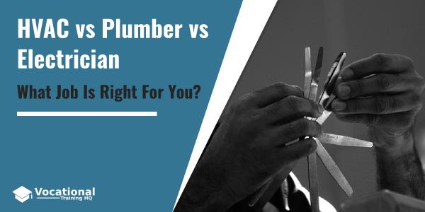 HVAC vs Plumber vs Electrician