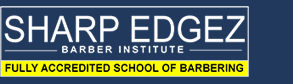 Sharp Edgez Barber Institute logo