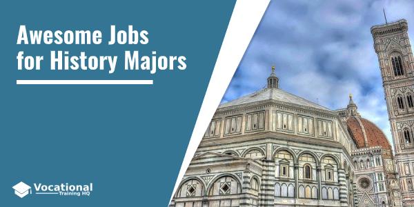 Jobs for History Majors