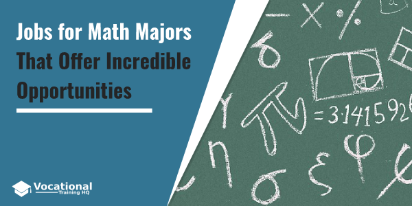 Jobs for Math Majors