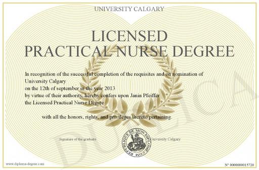 Licensed Practical Nurse Certification