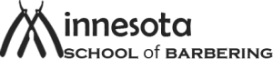 Minnesota School of Barbering logo