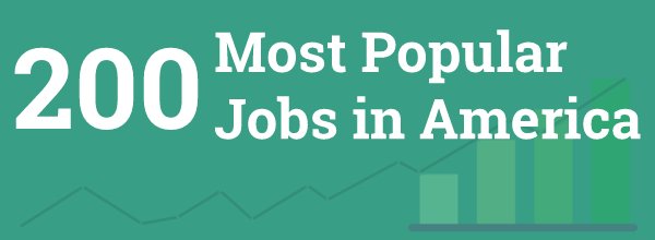 The 200 Most Popular Jobs in America