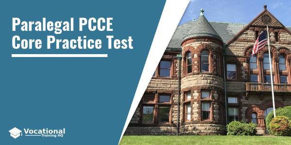 Paralegal PCCE Core Practice Test
