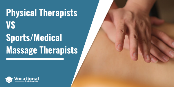 Physical Therapists VS Sports/Medical Massage Therapists