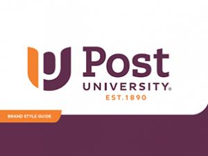 Post University logo