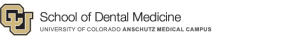 University of Colorado School of Dental Medicine logo