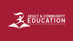 Adult and Community Education logo