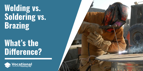 Welding vs. Soldering vs. Brazing
