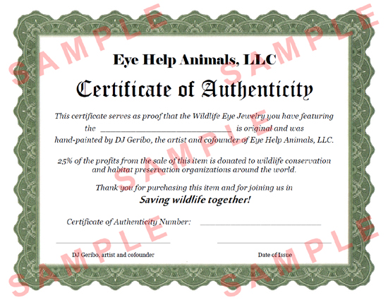 wildlife conservationist certificate